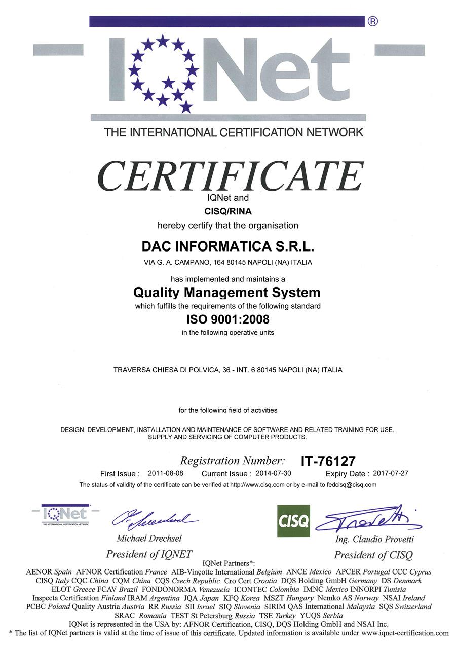 DAC-Informatica-IQNET-ISO-90012008