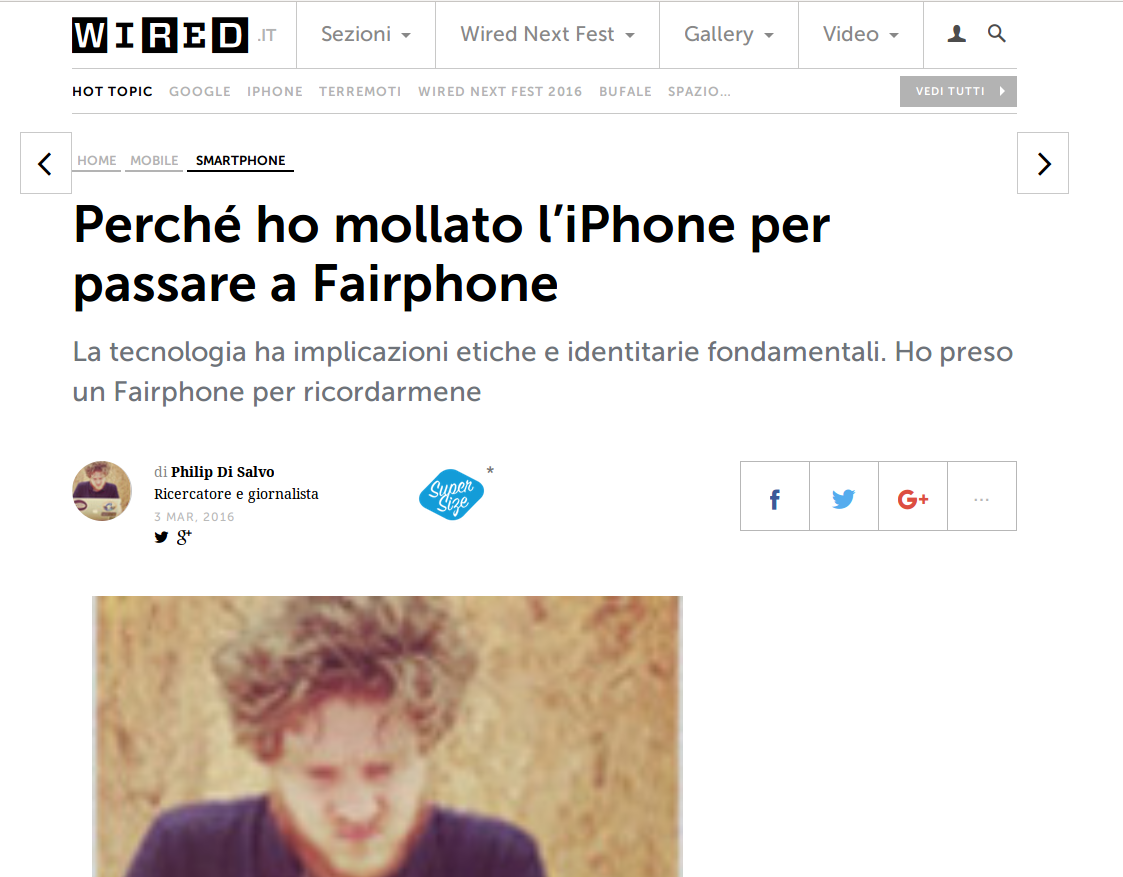 Perché Ho Mollato L'iPhone Per Passare A Fairphone