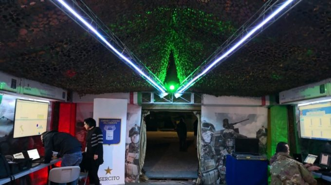 Bolla Dimostrativa Del Comando Logistico Dell'Esercito A Monte Romano